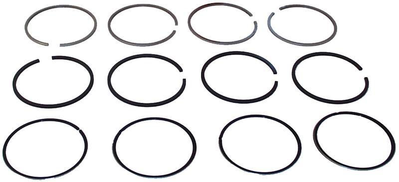 MM303537 - Piston ring set, 77.0 mm, 2.5x3.48,2.5x3.52, 4.0x
