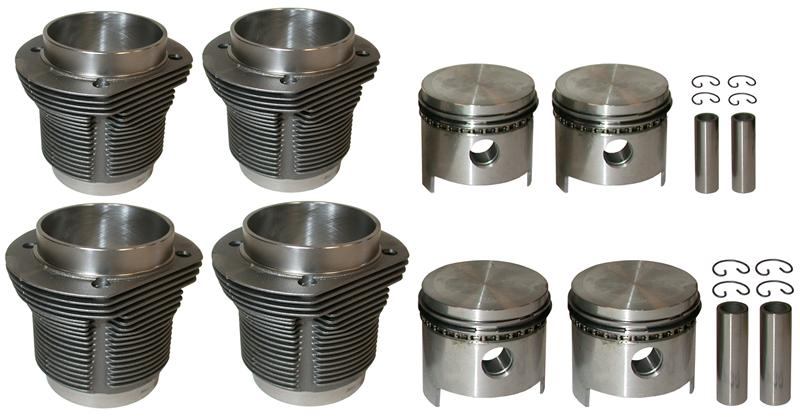 MM302286 - Piston/cylinder set, 85.5 mm, MAHLE