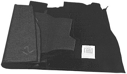MM303533 - Carpet kit, 7 pcs., black
